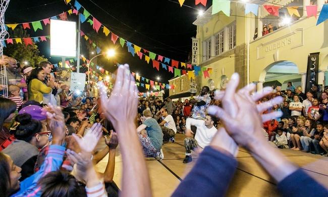 Festival KNKK in Zuid-Afrika losgebarsten