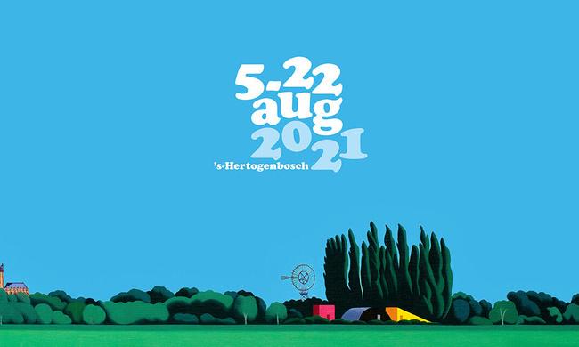 New campaign image Theaterfestival Boulevard by artist Jeroen Allart
